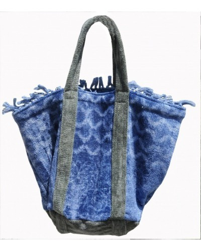 Chennile Bag 100% cotton Dabu print