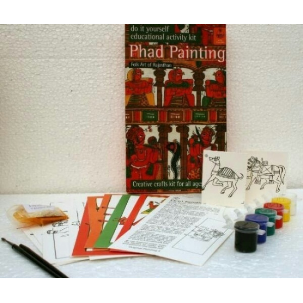 DIY Indian Traditional Painting Kits: Phad Paintings from Rajasthan