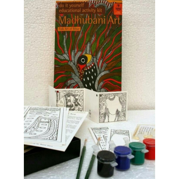 DIY Indian Traditional Painting Kits: Madhubani Paintings from Bihar