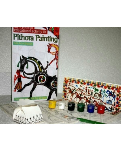 DIY Indian Traditional Painting Kits: Pithora Art of Gujarat