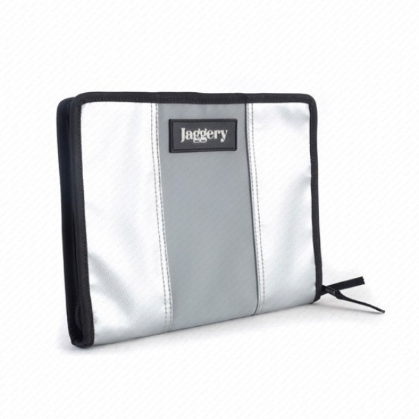 LIFE ORGANIZER IN SILVER & GREY [IPAD MINI & A5 DIARY CASE]