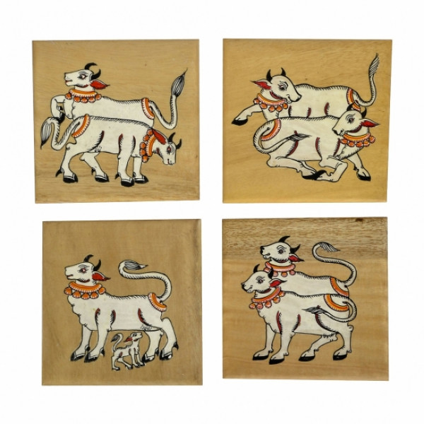 Cow Coasters ( set of 4)