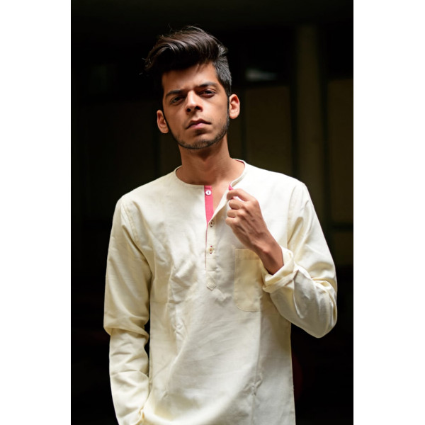 Khadi Kurta For Men