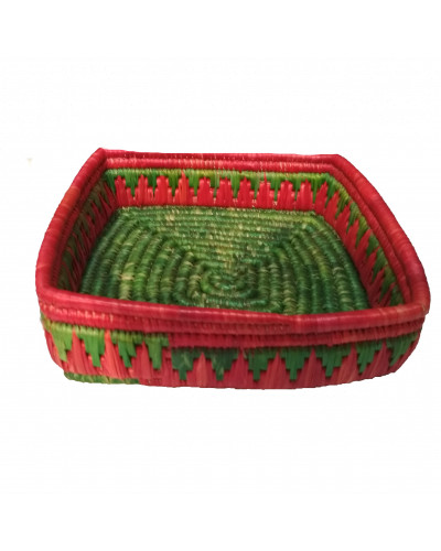 Crafted Grass Basket Box