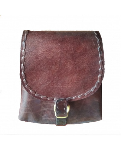 Leather Wefollow Side Bag