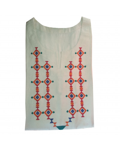 Cotton Kurta Double Mala