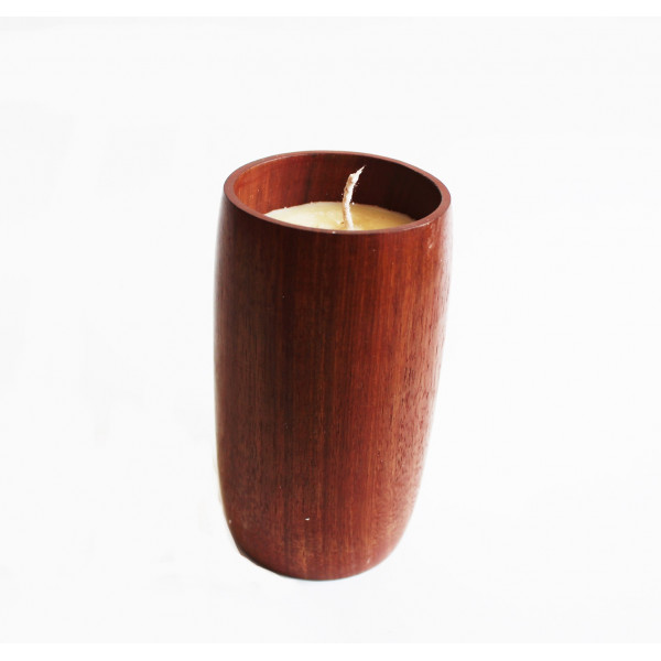 Bharti Sheesham Wood Scented candle