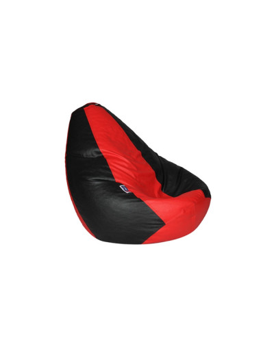 Red and Black Bean Bag