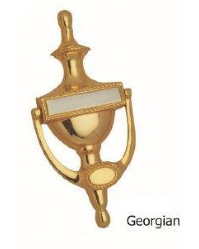 Kodia Georgian 6 GS Solid Brass Heavy Door Knocker