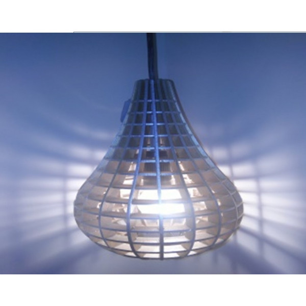 Hanging Lamp in blue