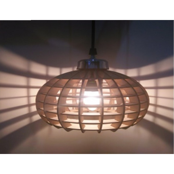 HANGING LAMP OVAL SHAPE