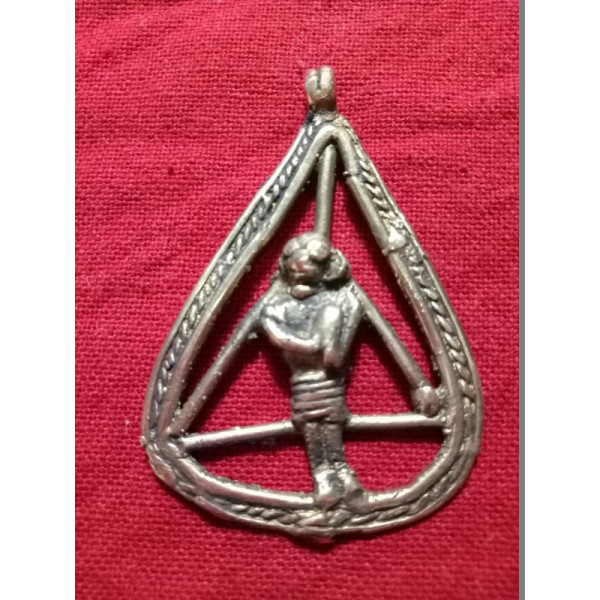 Bell Metal Lady Pendant