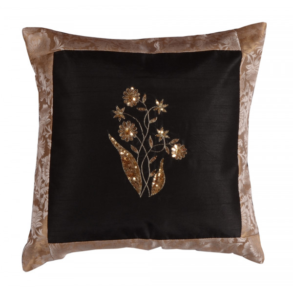 meSleep Hand Embroidery Cushion Cover