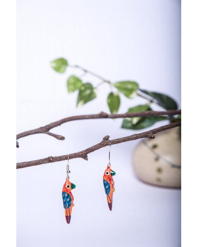 Bird Earings set of 5