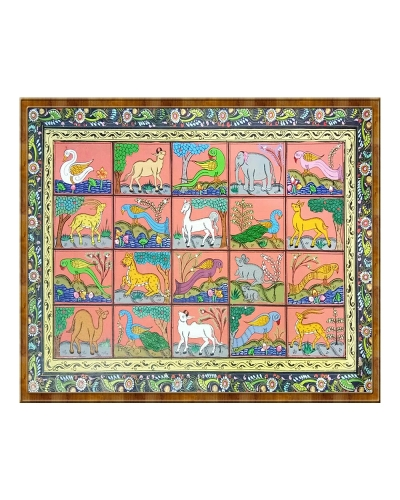 Animals And Birds Pattachitra