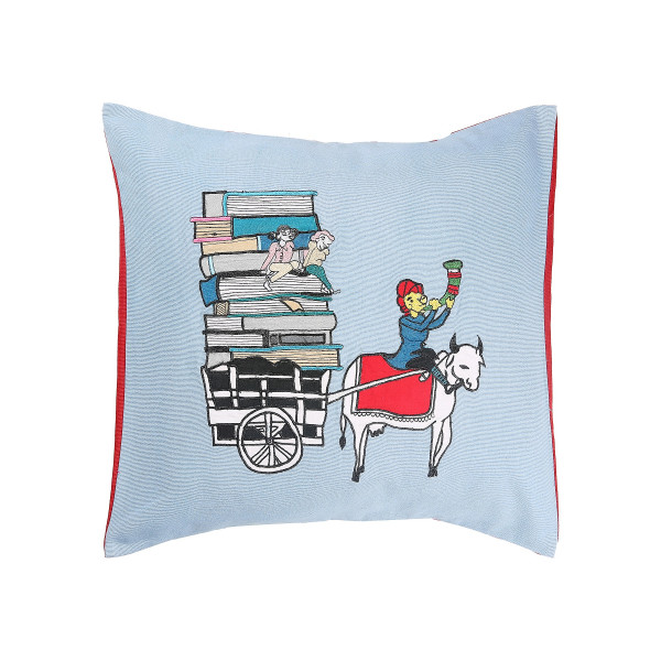Muchad Cushion Cover books 18x18