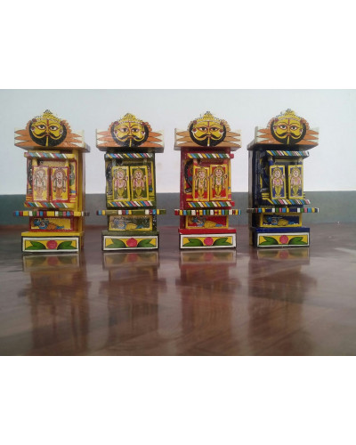 Ram and Krishna Kavad Set of 4